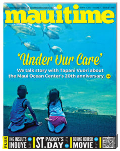 We talk story with Tapani Vuori about the Maui Ocean Center's 20th anniversary