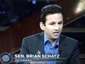 Senator Brian Schatz talks with Bill Maher on HBO