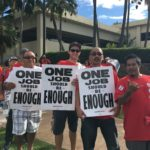 Sheraton Maui workers rally for a new deal, prepare for strike vote