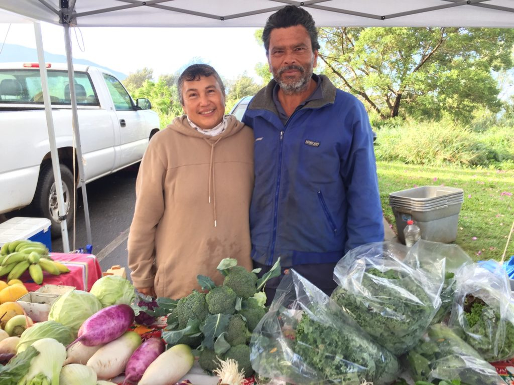 Gil Coca of Coca Farms at Upcountry Farmers Market